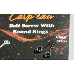 Bait Screw With Oval Ring