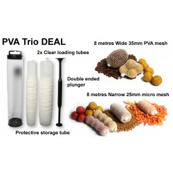 Kit Filet PVA - TRIO 16 mètres - UK